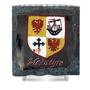 Mcintyre Coat Of Arms Shower Curtain