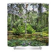 Mckee Botanical Gardens Shower Curtain