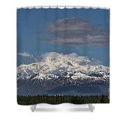 Mckinley South Veiw Shower Curtain