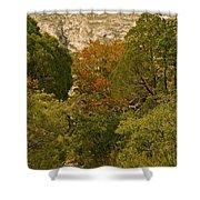 Mckittrick Canyon Trail Shower Curtain