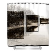 Mcnamara Landing Shower Curtain