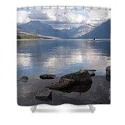 Mcdonald Lake Shower Curtain