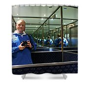 Me And Me And Me Shower Curtain