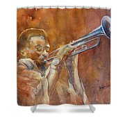 Me And My Trumpet Shower Curtain