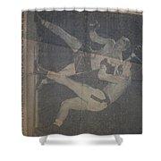 Me Fighting Bill Waits 1954 Shower Curtain