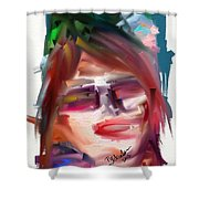 Me Myself And Moi Shower Curtain