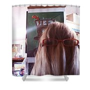Me New Years Day 2014 Shower Curtain