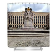 Meade Memorial Shower Curtain