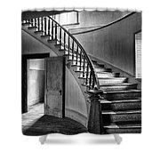 Meade Staircase Shower Curtain