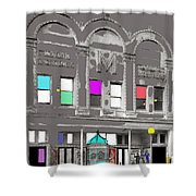 Meaders Theater 1919 Washington D.c. 1919-2010 Shower Curtain