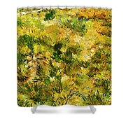 Meadow After Van Gogh Shower Curtain