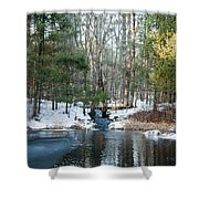 Meadow Brook Pond 1 Shower Curtain