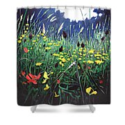 Meadow Glory Shower Curtain