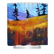 Meadow Mountain Shower Curtain