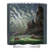 Meadow Retreat Shower Curtain