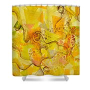 Meandering Melody Shower Curtain