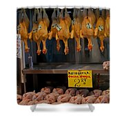 Meat Market   Athens   #6747 Shower Curtain
