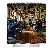 Mechanical Works Shower Curtain