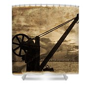 Mechanics Of The Old Days Shower Curtain by Semmick Photo