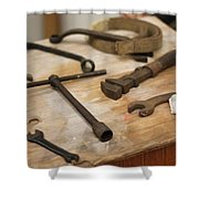 Mechanic's Tools Shower Curtain