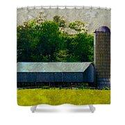 Mechanisville Md Farm Shower Curtain