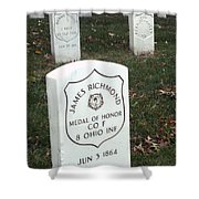 Medal Of Honor Shower Curtain