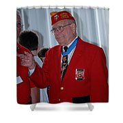 Medal Of Honor Recipient Shower Curtain