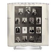 Medal Of Honor Recipients Shower Curtain