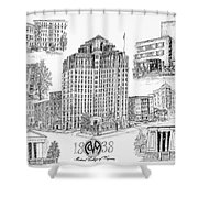 Medical College Of Virginia Shower Curtain