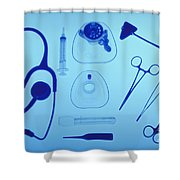 Medical Equipment Shower Curtain