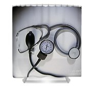 Medical Instruments Shower Curtain