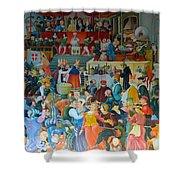 Medieval Banquet Shower Curtain