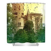 Medieval Castle - Old World  Shower Curtain
