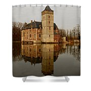 Medieval Castle Shower Curtain