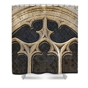 Medieval Church Window Ornaments Shower Curtain