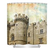 Medieval City Of Rhodes Shower Curtain