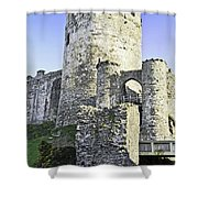 Medieval Conwy Shower Curtain