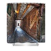 Medieval Doorway Shower Curtain