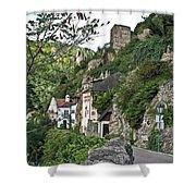 Medieval Durnstein Shower Curtain
