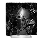 Medieval Faire Knight's Victory 2 Shower Curtain