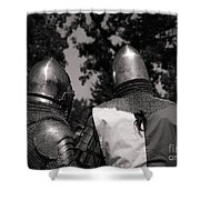 Medieval Faire Planning Strategies Shower Curtain