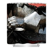Medieval Faire Ready To Ride Shower Curtain