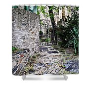 Medieval Garden Shower Curtain