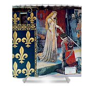 Medieval Tapestry Shower Curtain by France  Art