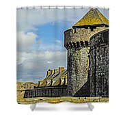 Medieval Towers Shower Curtain