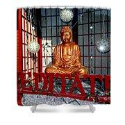 Meditate Shower Curtain