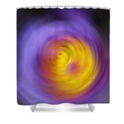 Meditation - Abstract Energy Art By Sharon Cummings Shower Curtain
