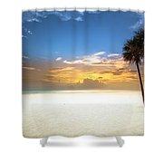 Meditation Shower Curtain by Edward Kreis