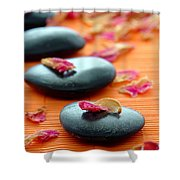 Meditation Zen Path Shower Curtain