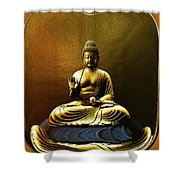 The Meditative State Shower Curtain